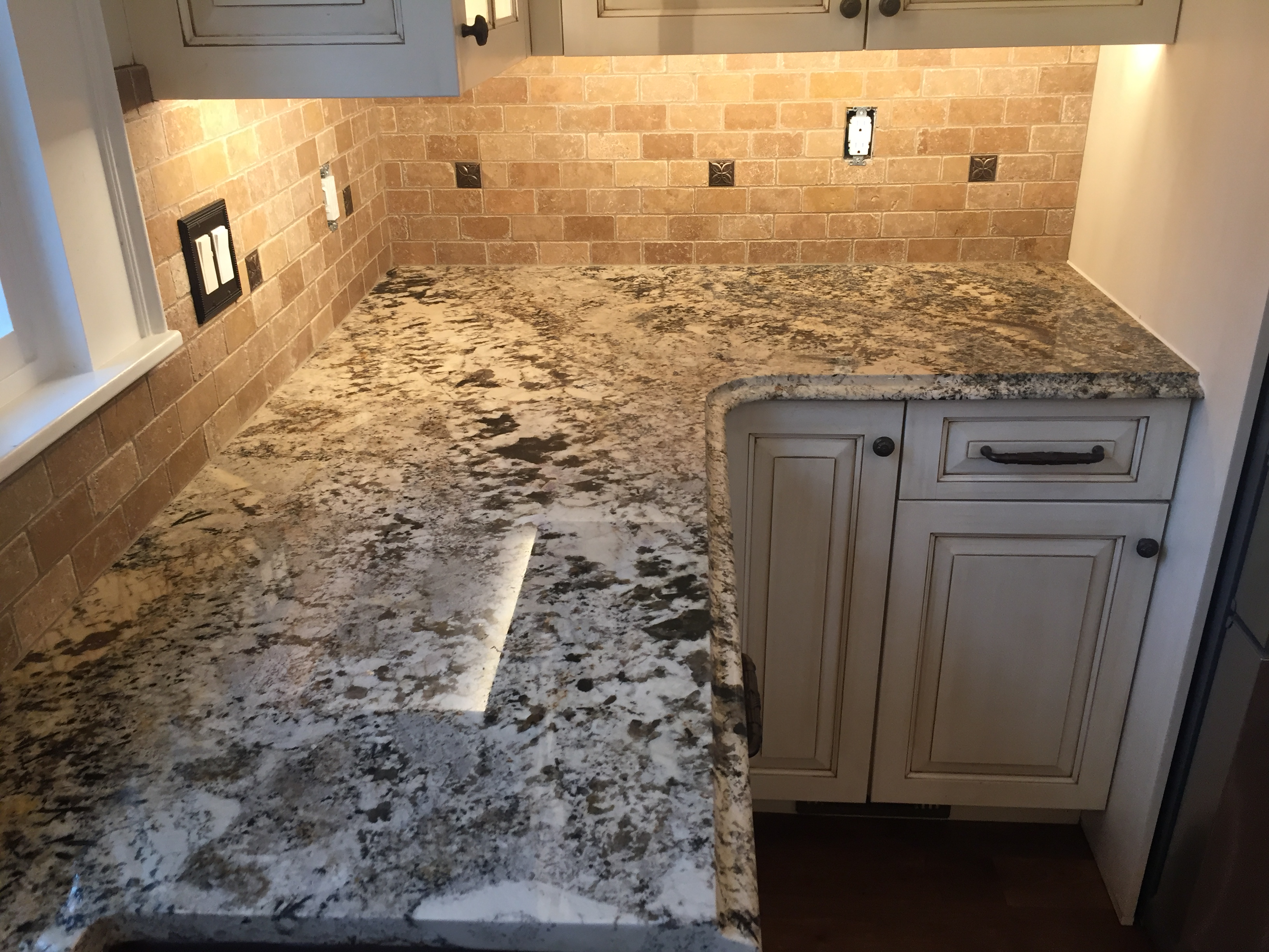 Brighten Up Your Kitchen And Bathrooms With New Custom Granite Countertops